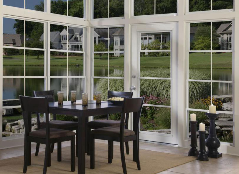 Screen Or Vinyl Porch Windows For Your Patio Enclosure