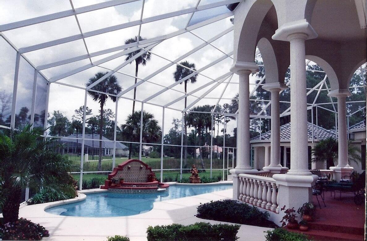 Types of Roof Styles for Your Patio or Pool Screen Enclosure