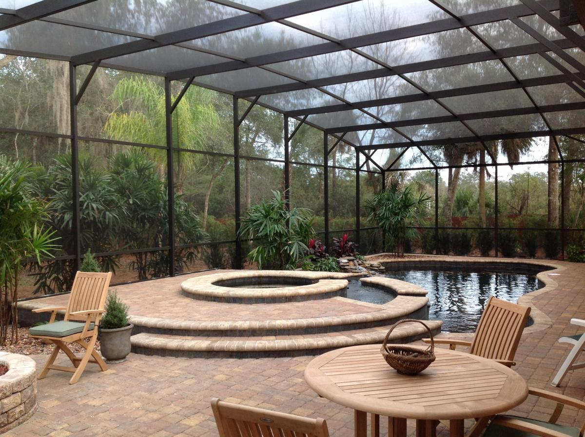 Pool Enclosure Ideas Comfortable Home Design