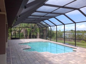 Edgewater pool enclosure