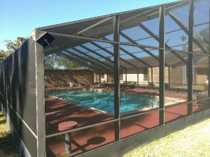 gable pool enclosure