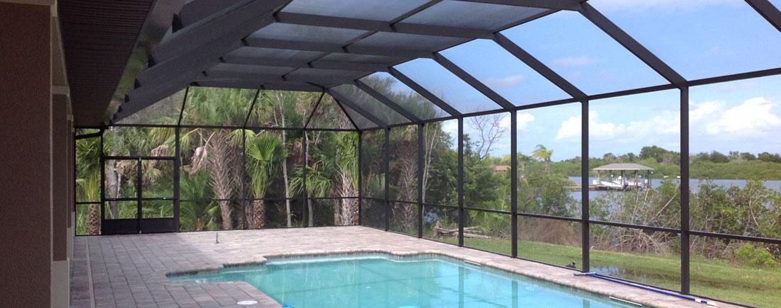 Pool Screen Enclosures Patio Enclosures New Smyrna Beach