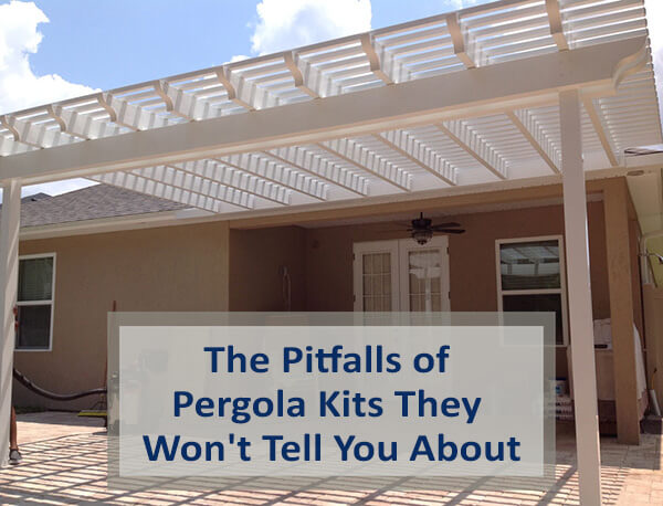 The Pitfalls of Pergola Kits They Won't Tell You About